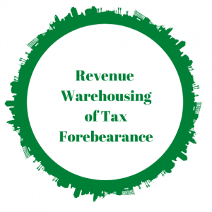 Warehousing of Tax